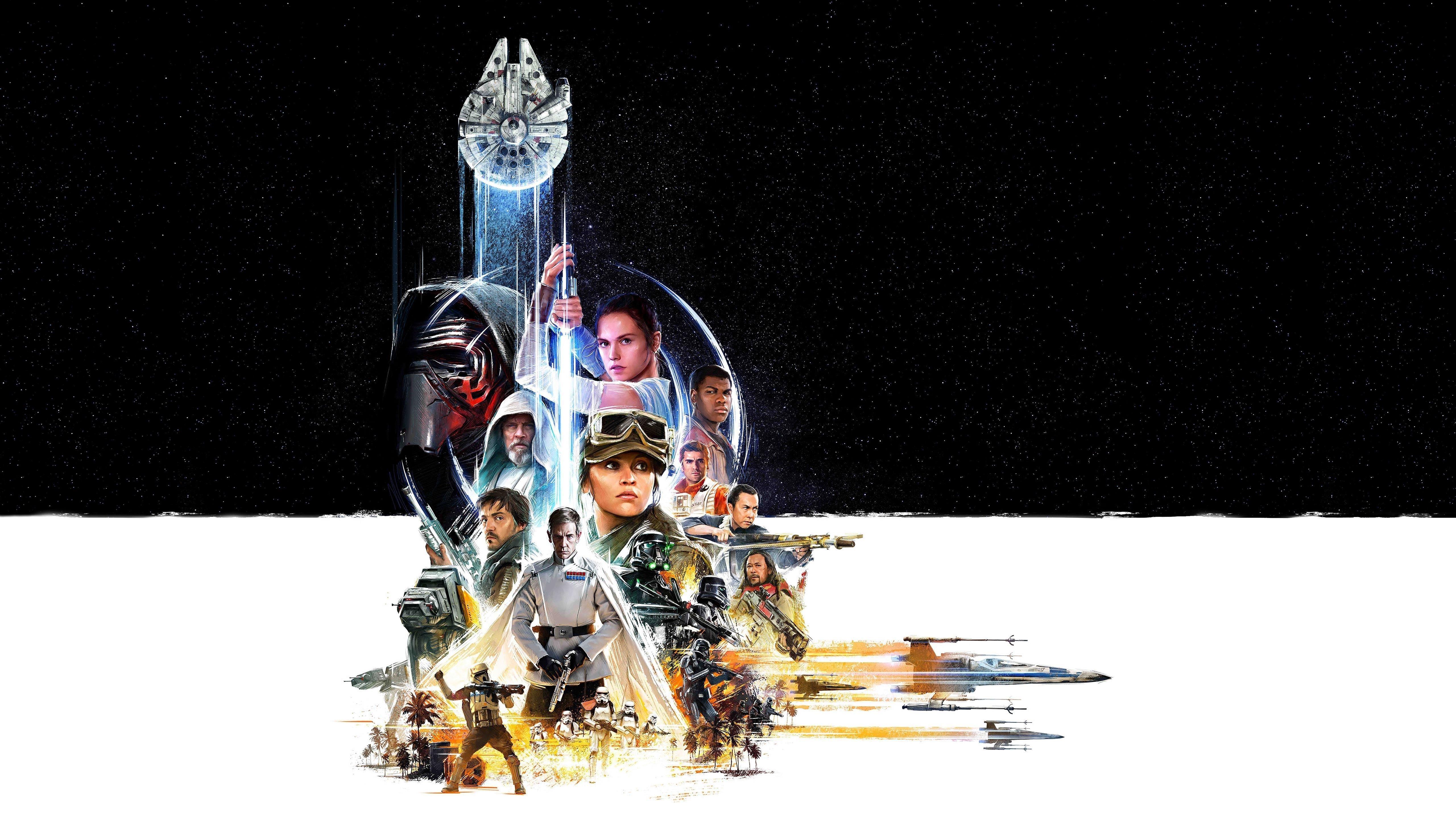 Празднование Звездных войн обои скачать