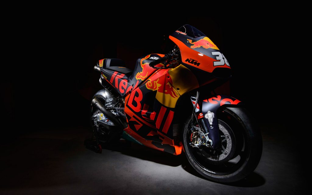 Ktm rc16 motogp race bike. обои скачать