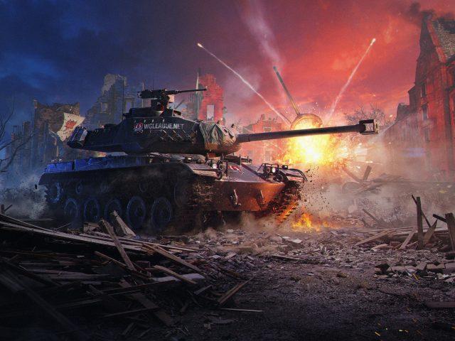 Мир танков новые.