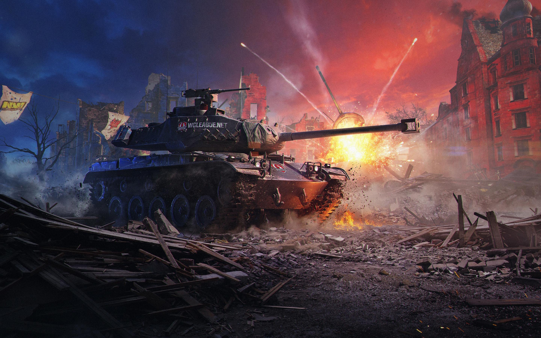 Мир танков новые. обои скачать
