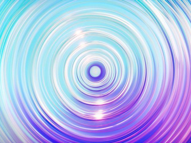Красочные волны