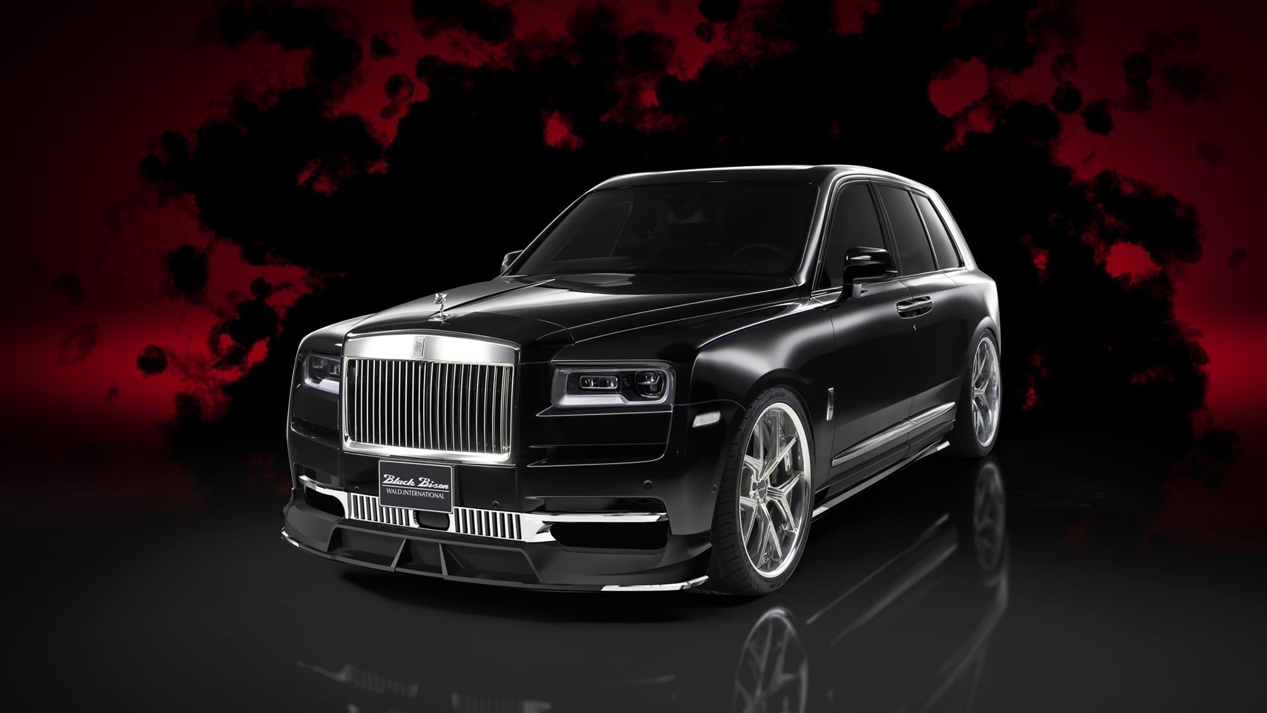 Wald rolls-royce cullinan sports line black bison edition 2020 автомобили обои скачать