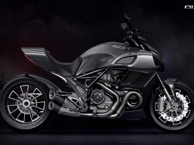Ducati diavel sport-cruiser bike