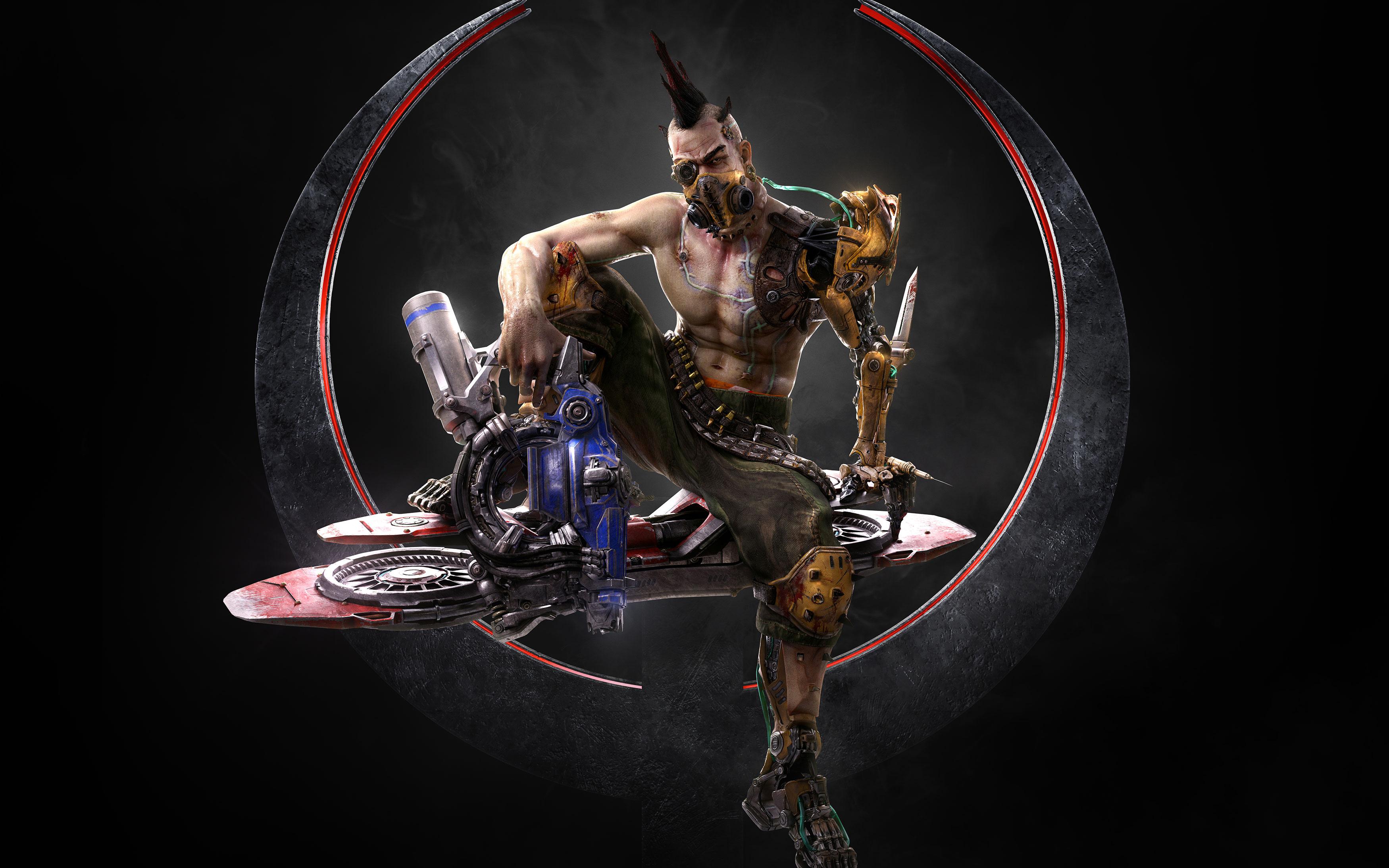 Чемпионов в Quake anarki обои скачать