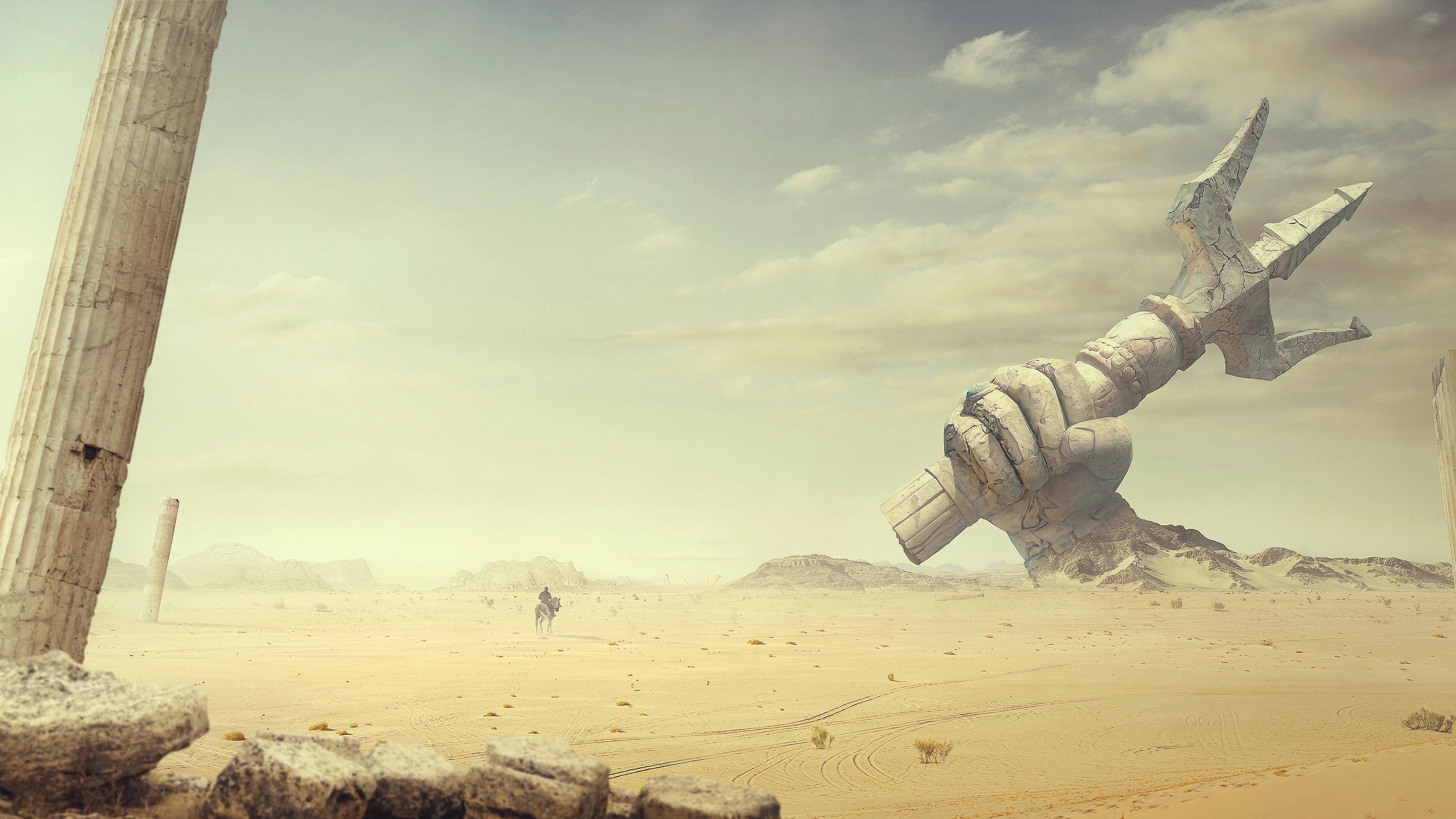 Древняя пустыня обои скачать