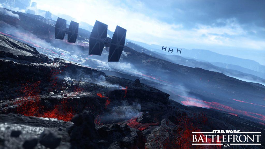 Звездные войны Battlefront салласт. обои скачать