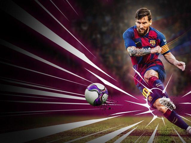 Лионель Месси футбол Pro Evolution футбол 2020