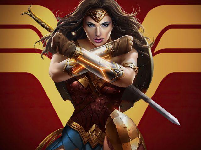 Чудо-женщина x несправедливость 2
