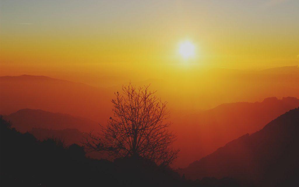 Восход. обои скачать