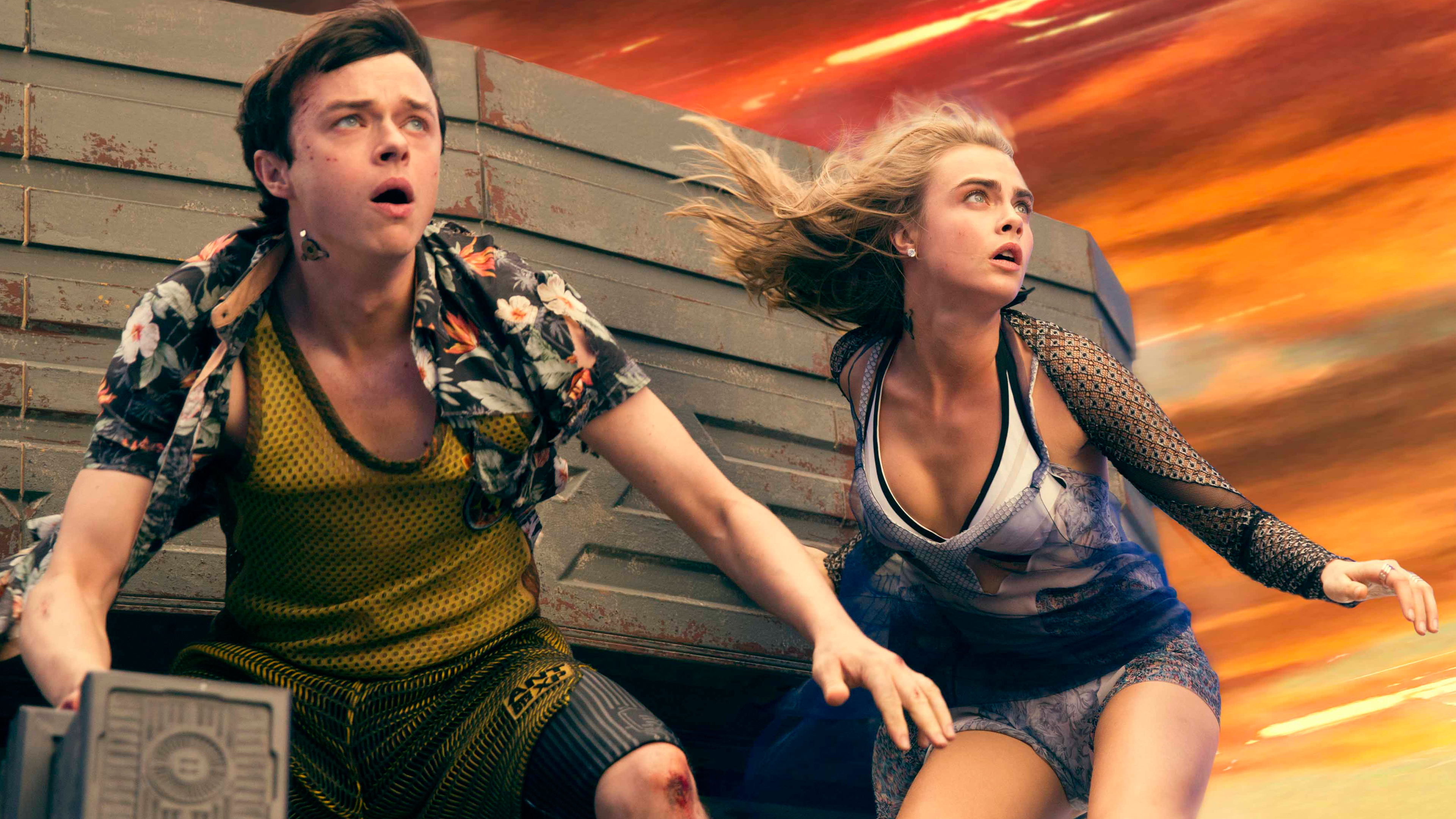 Valerian and the City of a Thousand Planets обои скачать