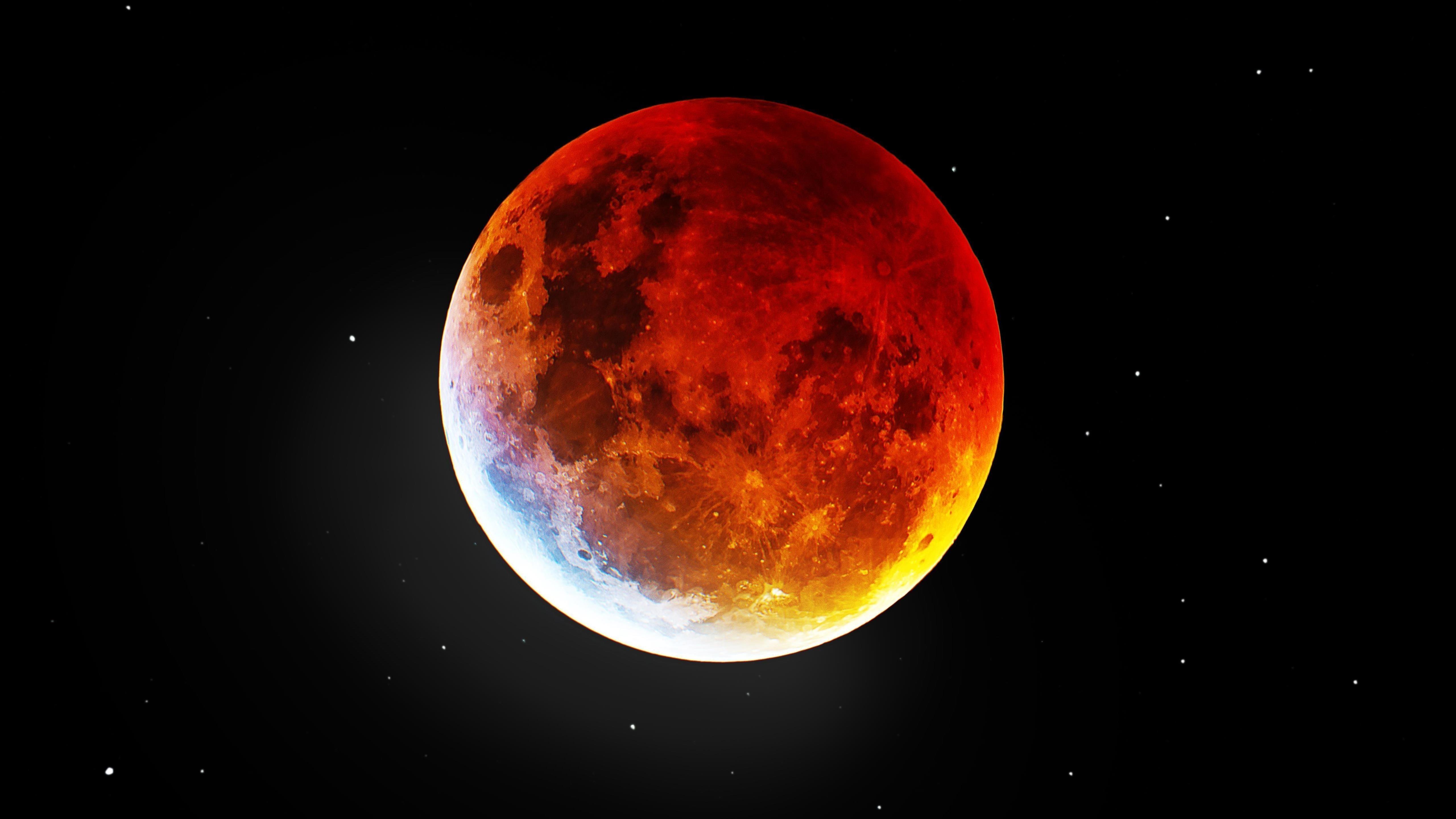 Кровавая луна обои скачать