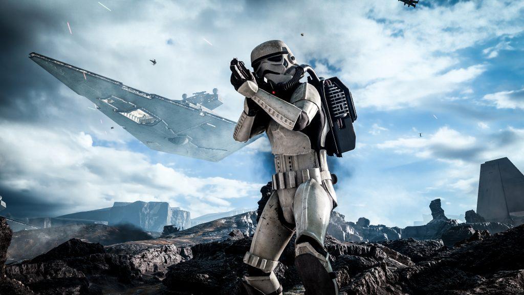 Звездные войны Battlefront штурмовика. обои скачать