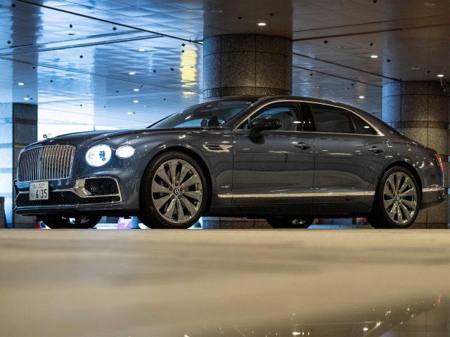 Автомобили Bentley flying spur 2020