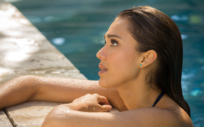 Джессика Альба какая красивая. обои скачать