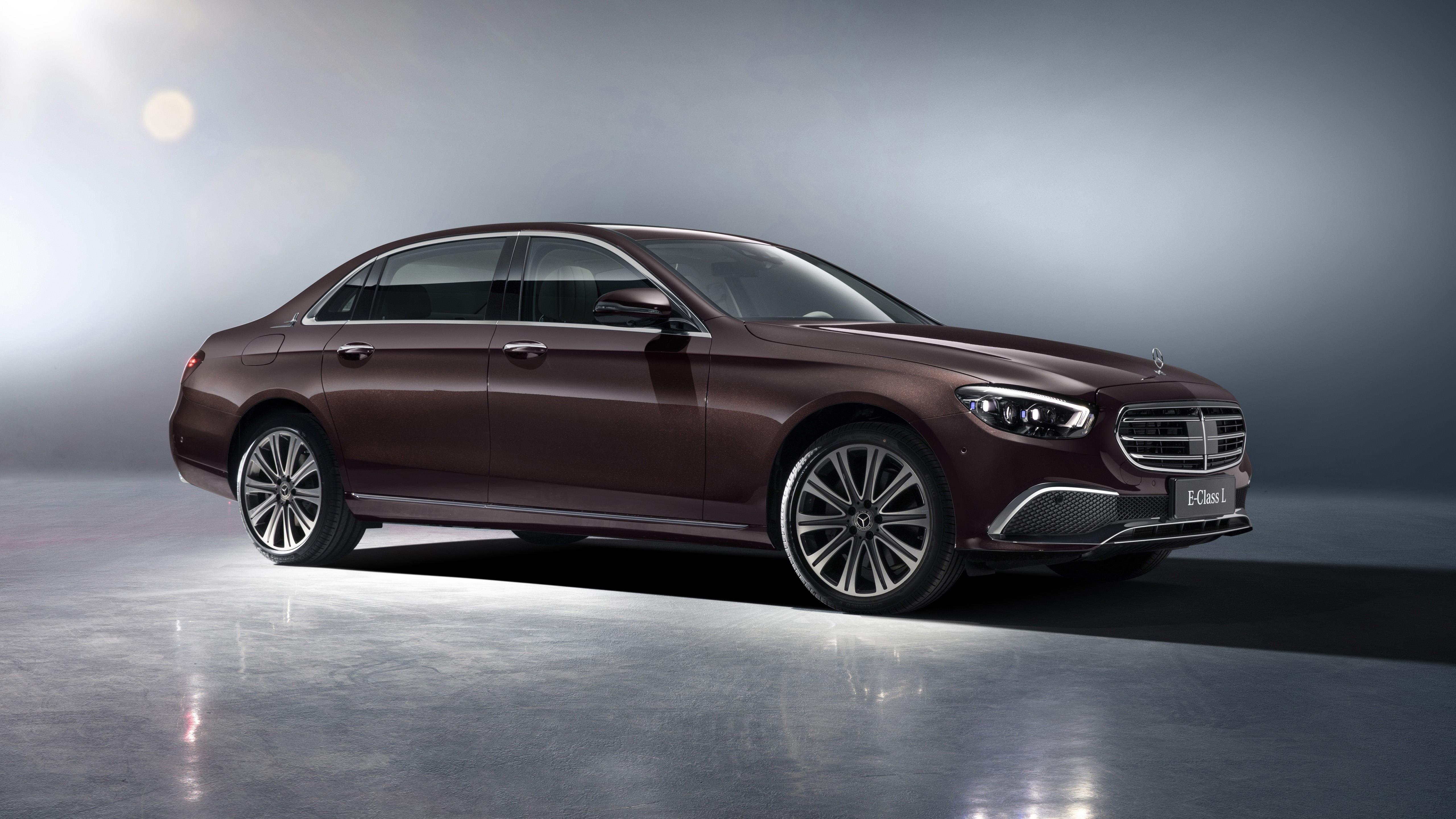 Коричневые автомобили mercedes-benz e 350 l exclusive line 2020 обои скачать