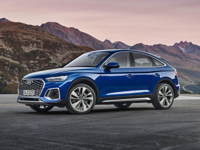 Audi blue q5 sportback 45 tfsi quattro s line 2020 автомобили