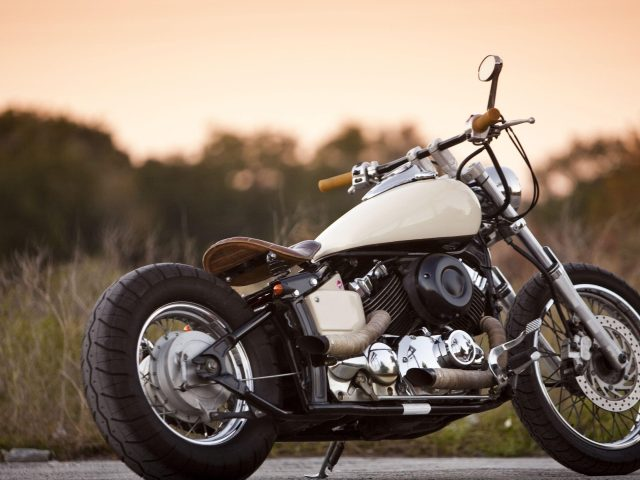 Yamaha 650 мотоцикл велосипед
