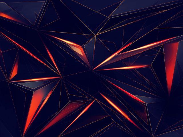 3D геометрические треугольники