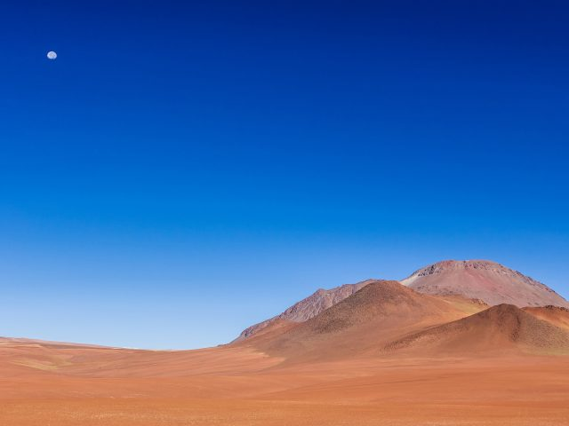 Пейзаж ясного неба.