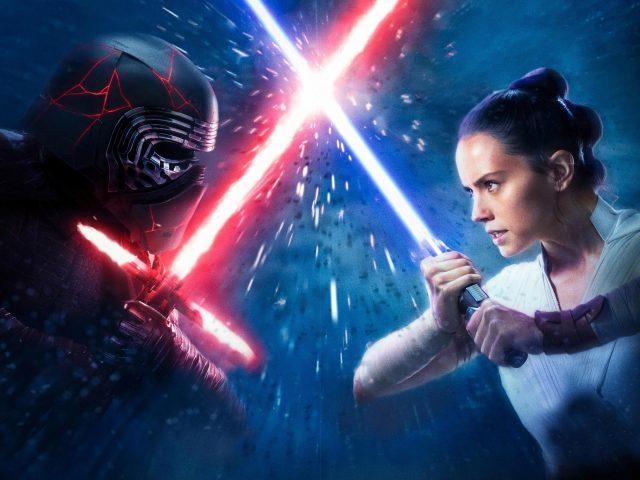 Рей против Кайло-Kylo РЕН Звездные войны Скайуокер в рост