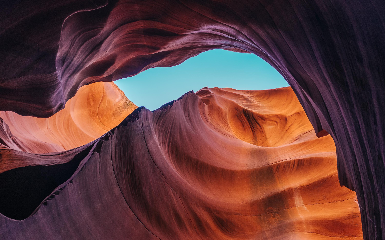 Нижний каньон антилопы обои скачать