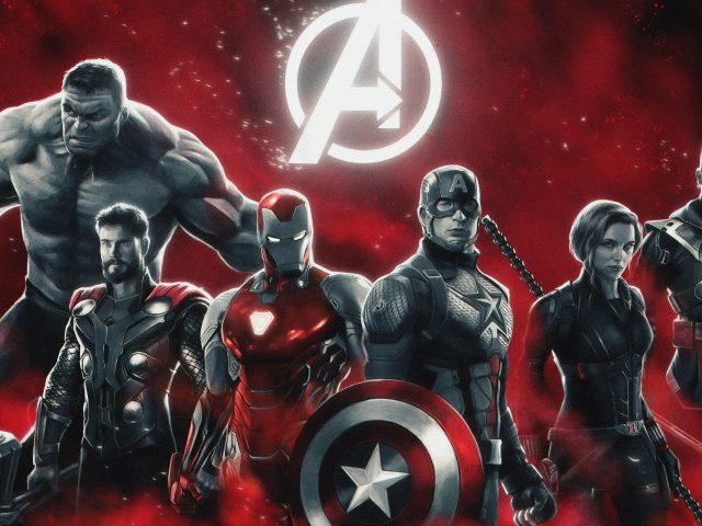 Мстители Эндшпиль супергероев
