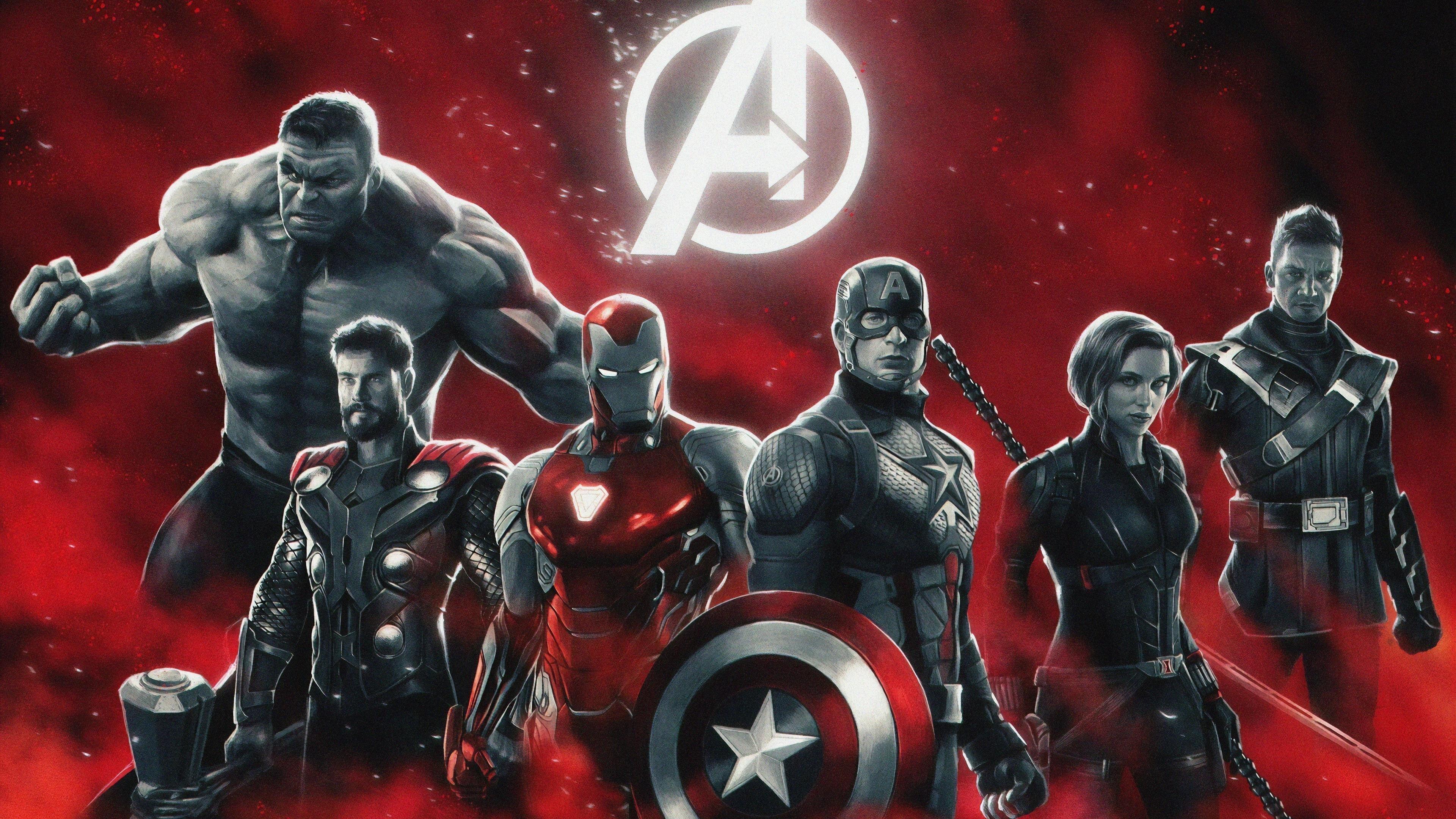 Мстители Эндшпиль супергероев обои скачать