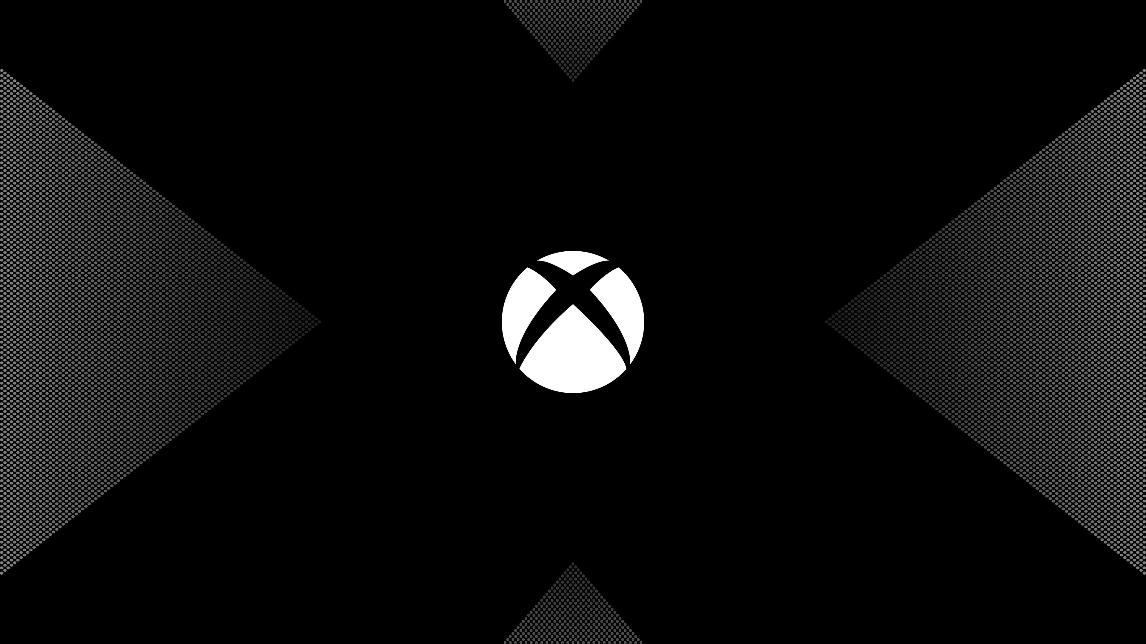 Xbox один х логотип обои скачать
