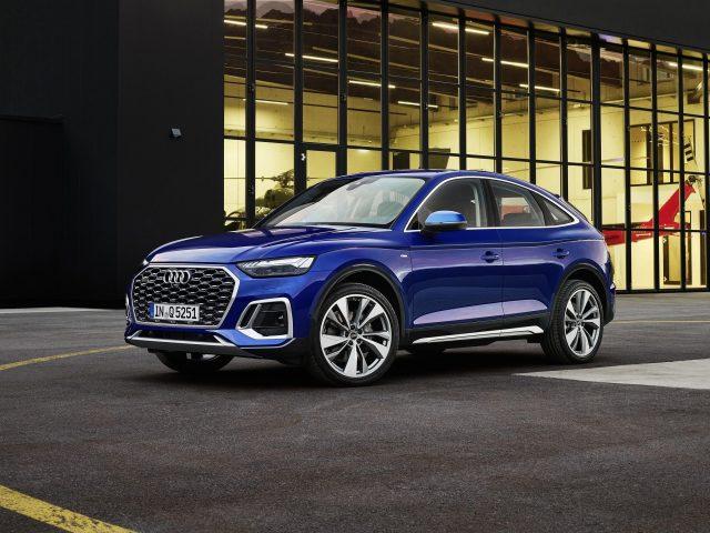 Audi q5 sportback 45 tfsi quattro S line 2021 3 автомобиля