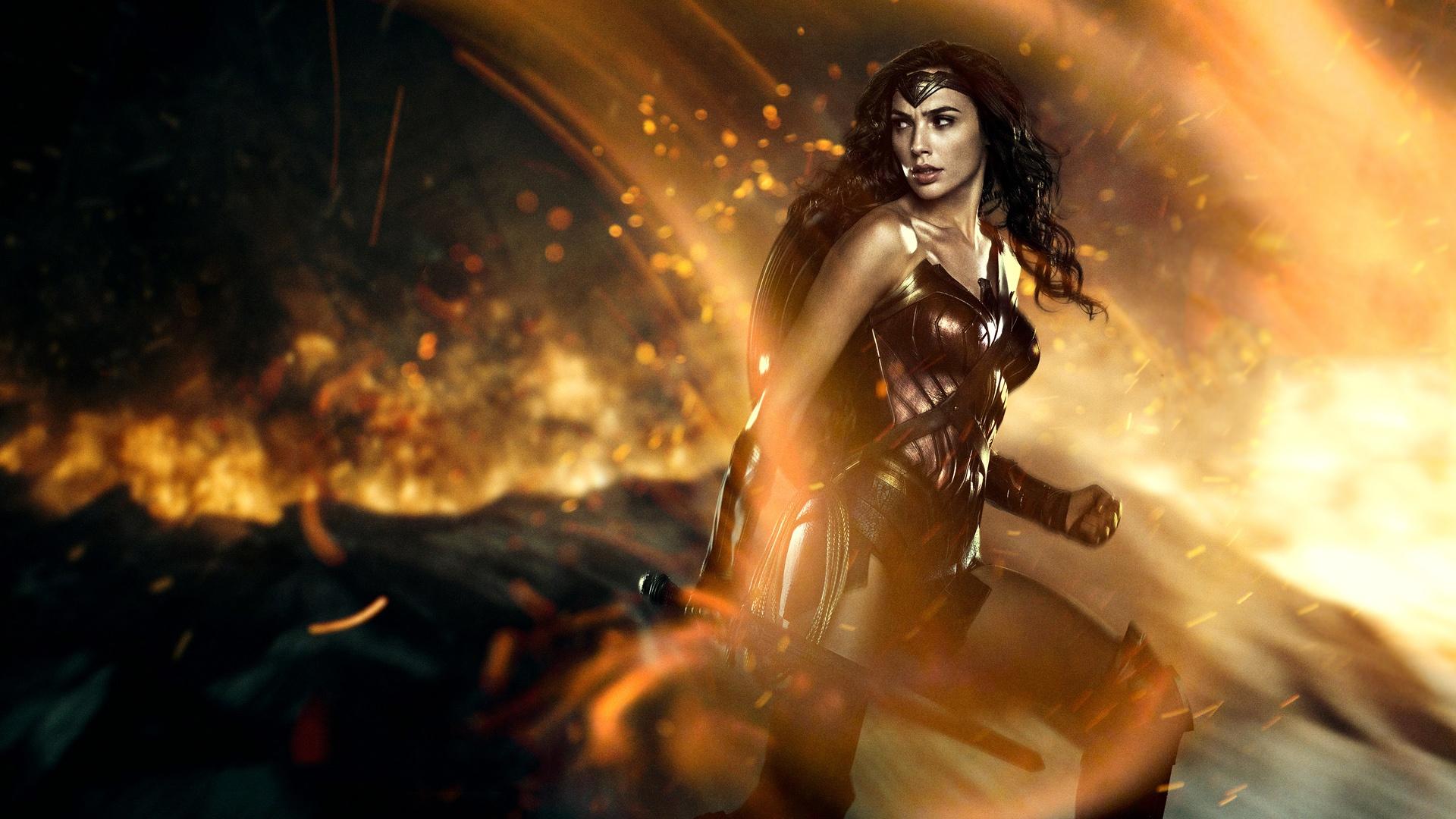 Wonder Woman Gal Gadot обои скачать
