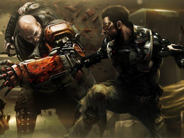 В Deus Ex человечество разделено концепт-арт.