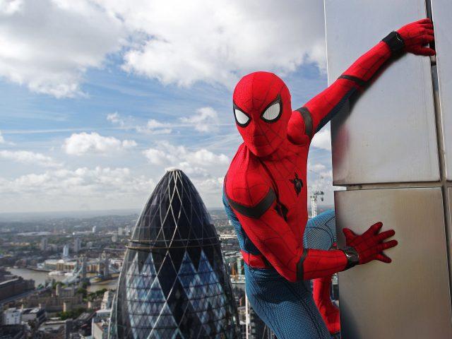 Человек-паук возвращение на родину в HD 4к.