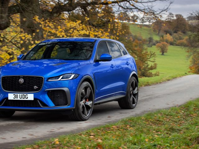 Автомобили jaguar f pace svr 2021