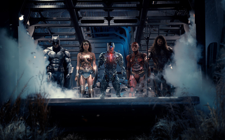 Лига справедливости супергерои. обои скачать