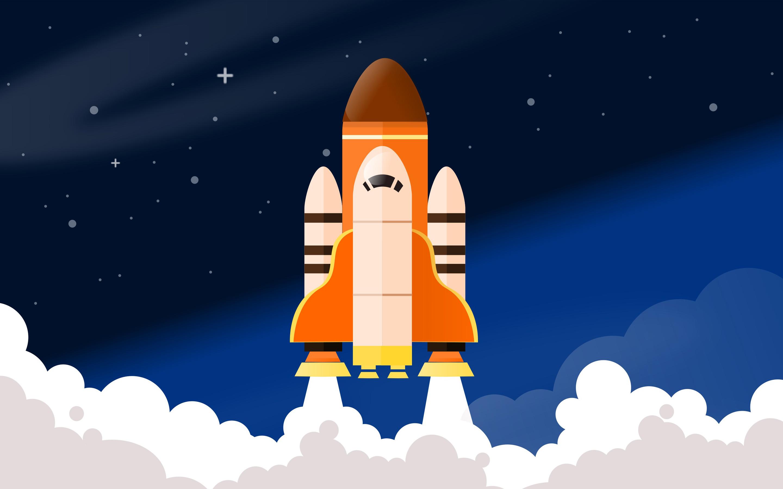 Ракеты космического корабля. обои скачать