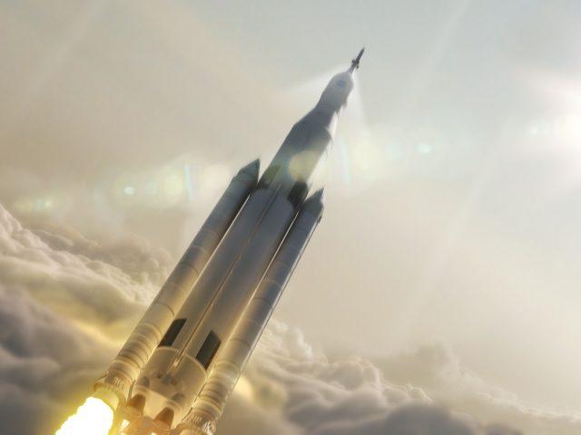 Тяжелой ракеты Falcon компании spacex