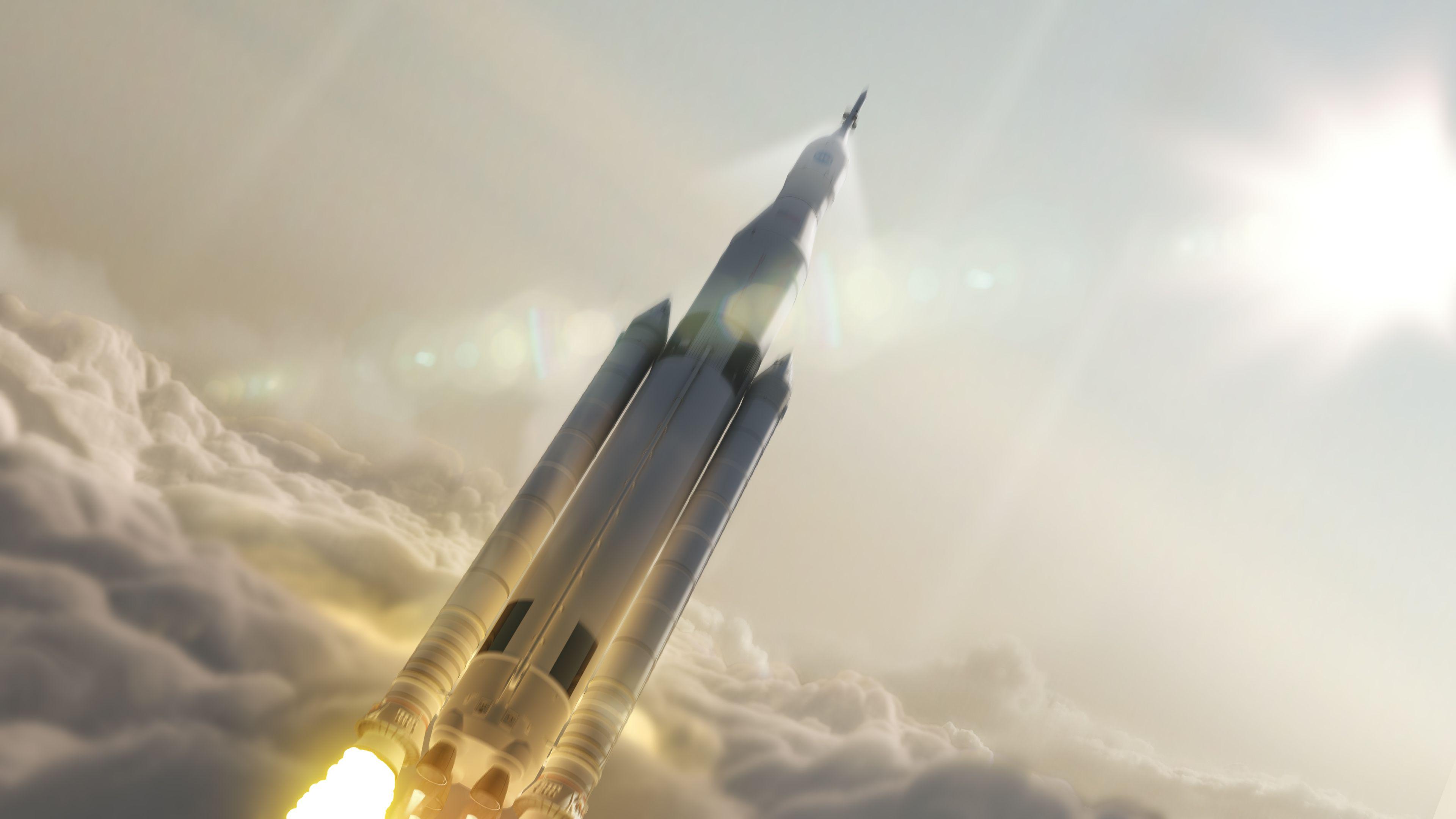 Тяжелой ракеты Falcon компании spacex обои скачать