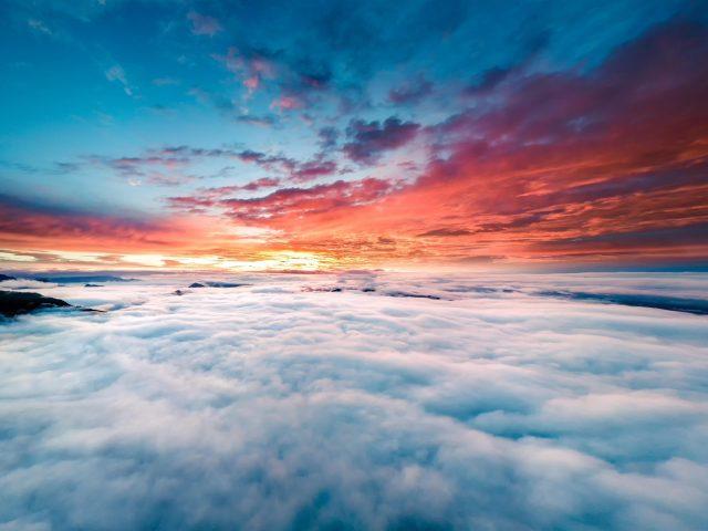 Горизонт над облаками