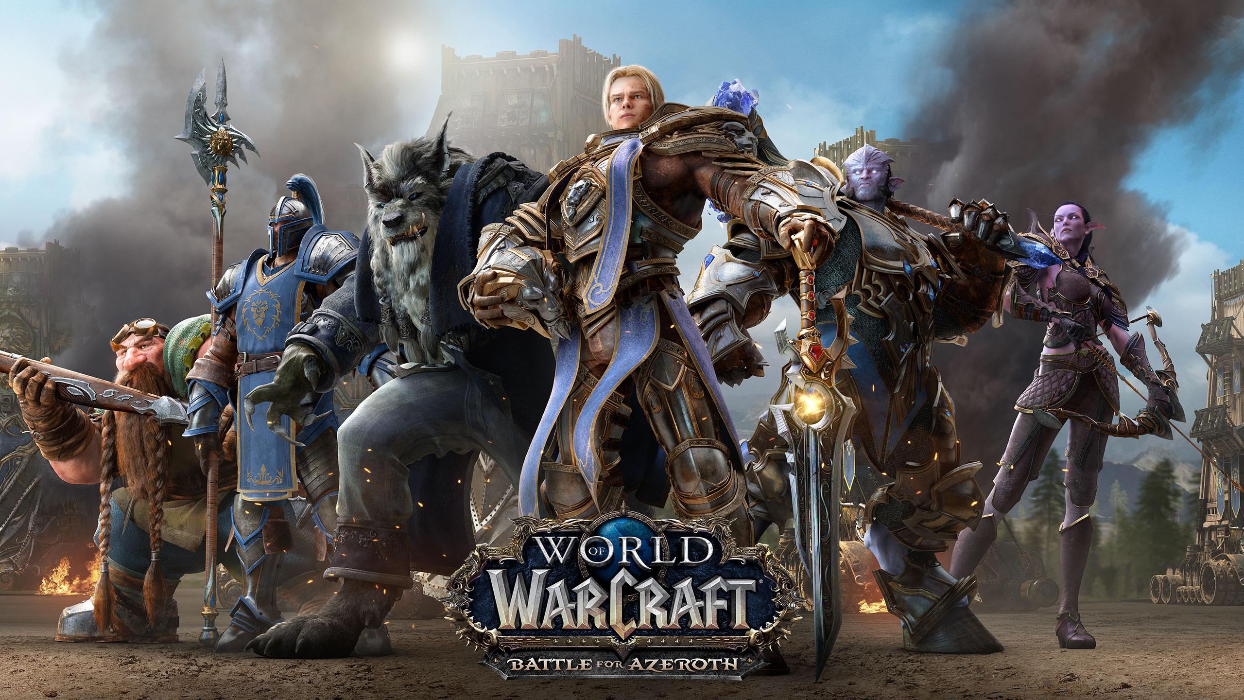 World of warcraft Альянс обои скачать