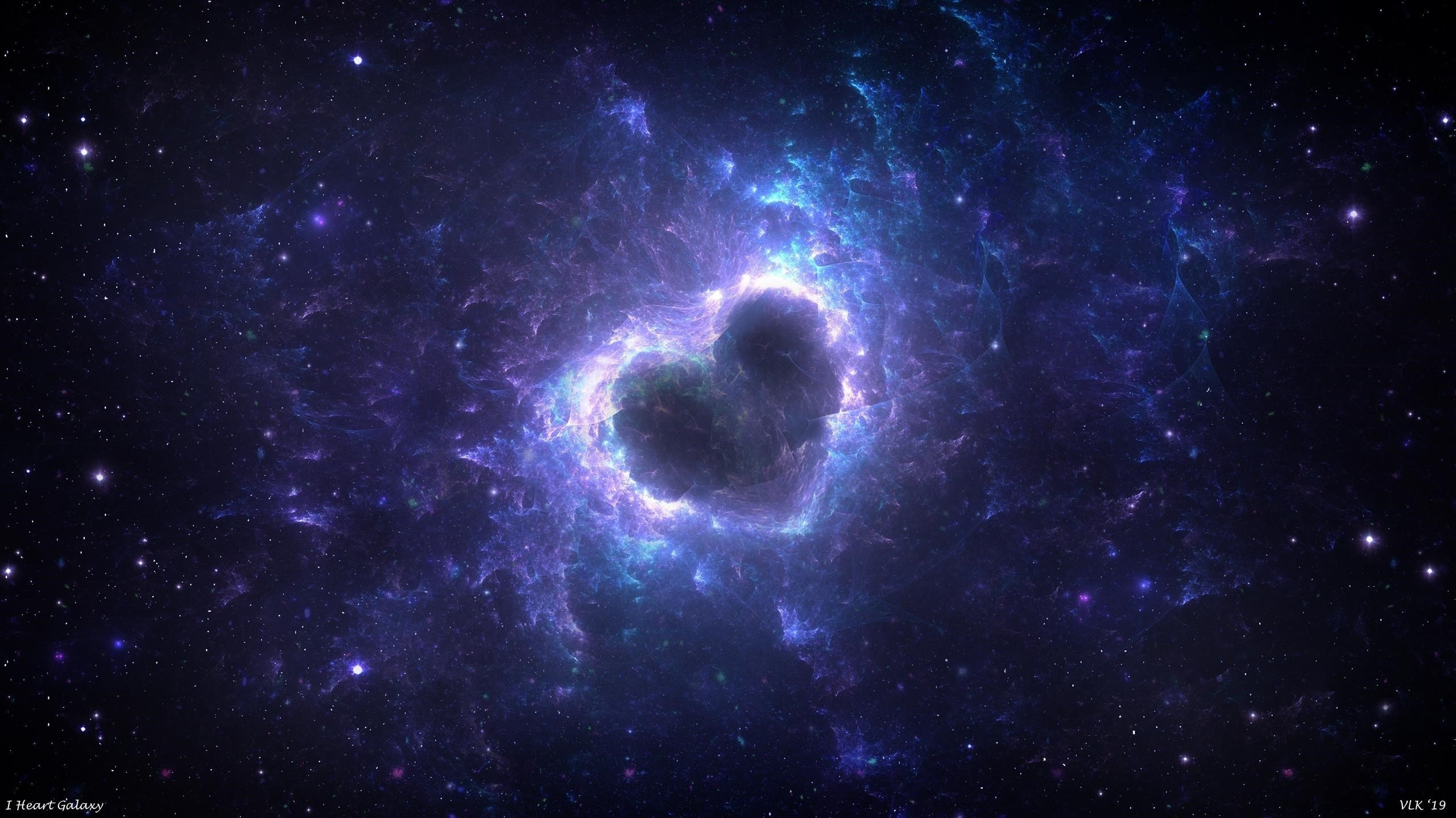 Сердце галактики обои скачать