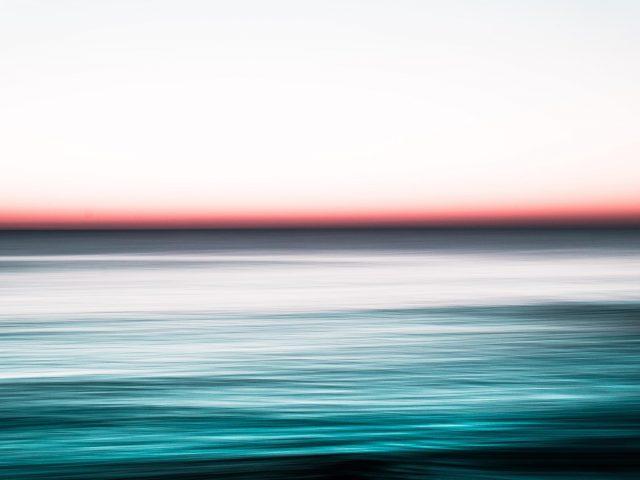 Морской пейзаж длительная экспозиция
