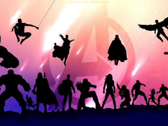 Мстители Эндшпиль иллюстрации
