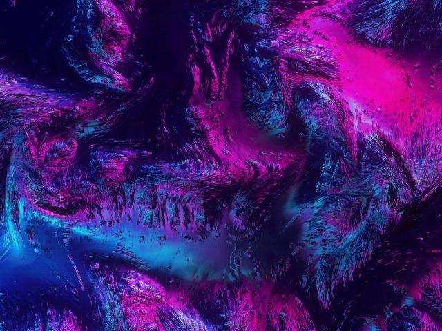 Розовый синий цифровое искусство абстрактный