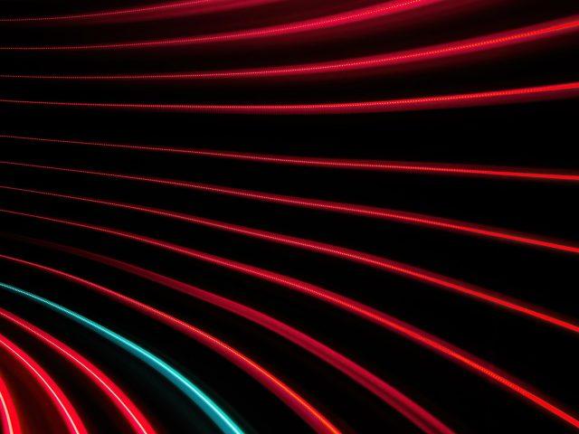Красные и черные линии вихревой узор абстрактный