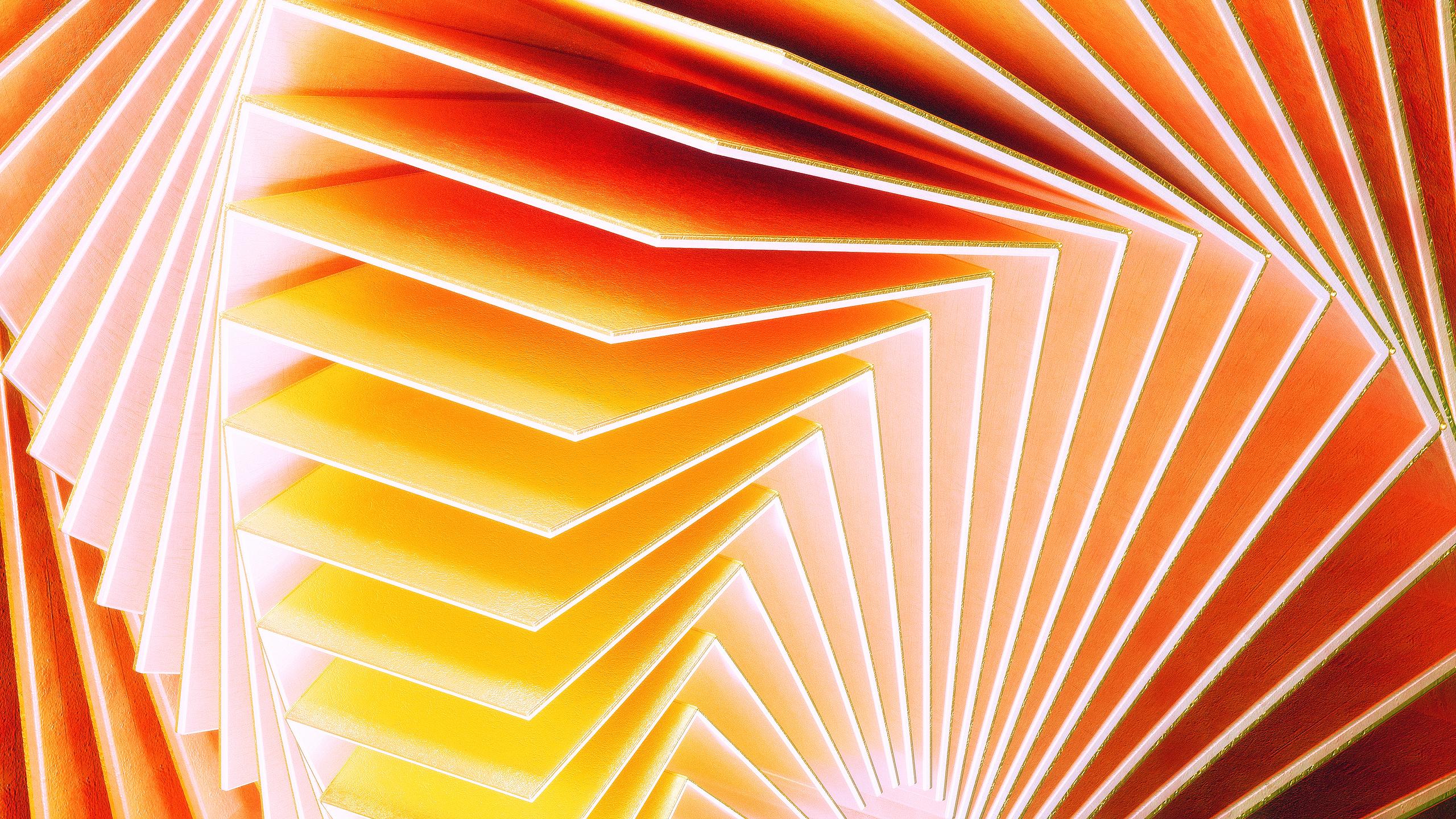 Металлические волны обои скачать