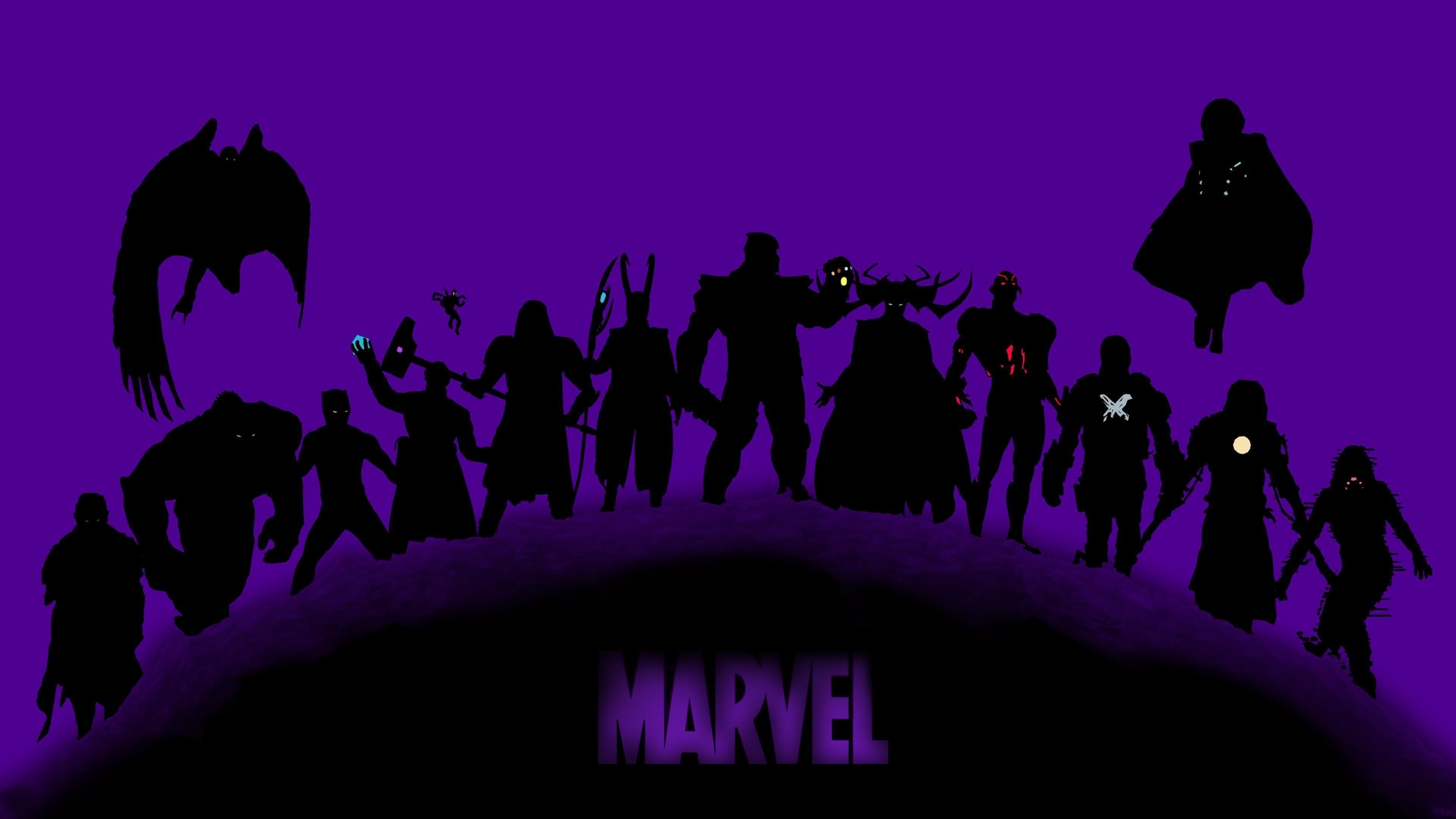 Суперзлодеи marvel обои скачать
