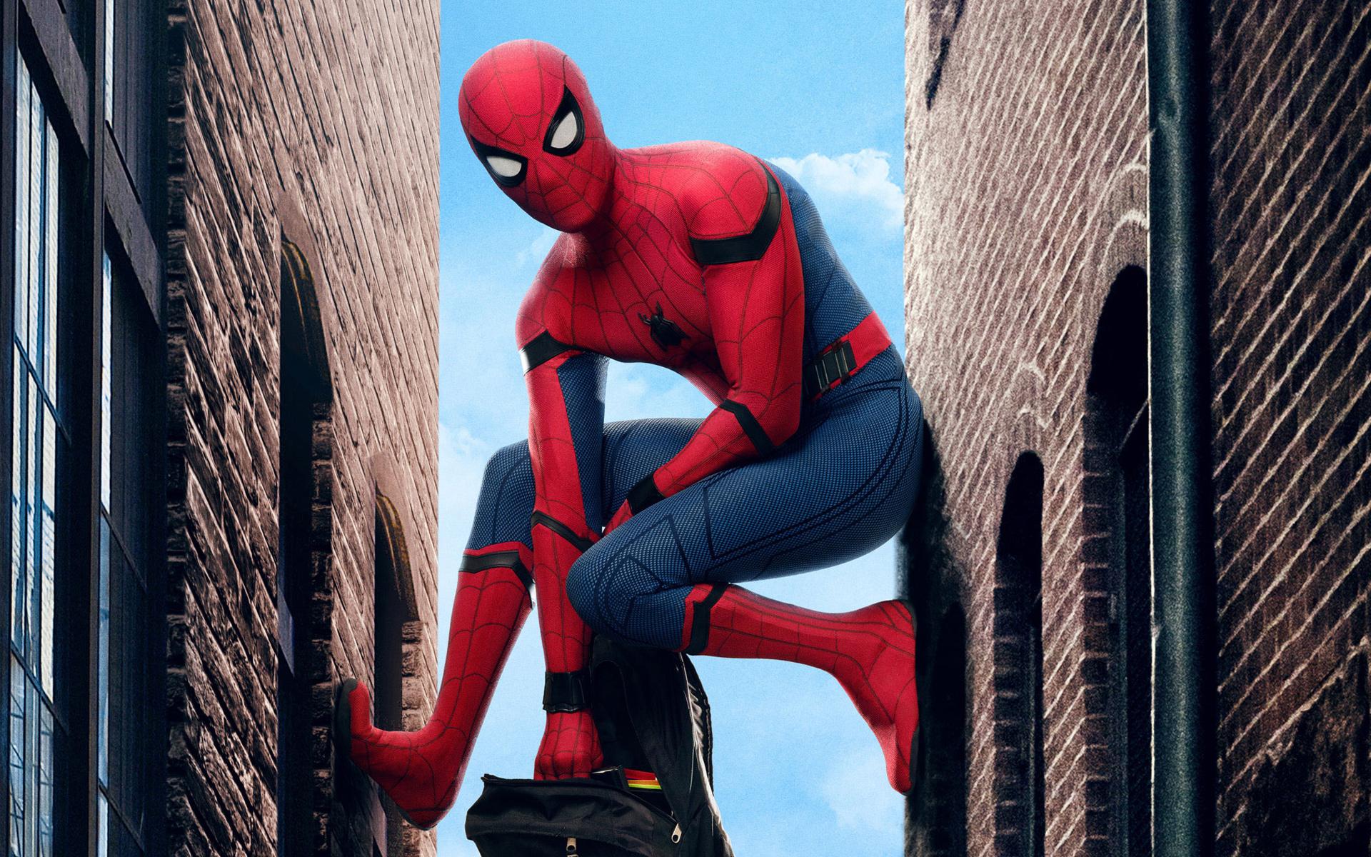 Человек паук возвращение. обои скачать
