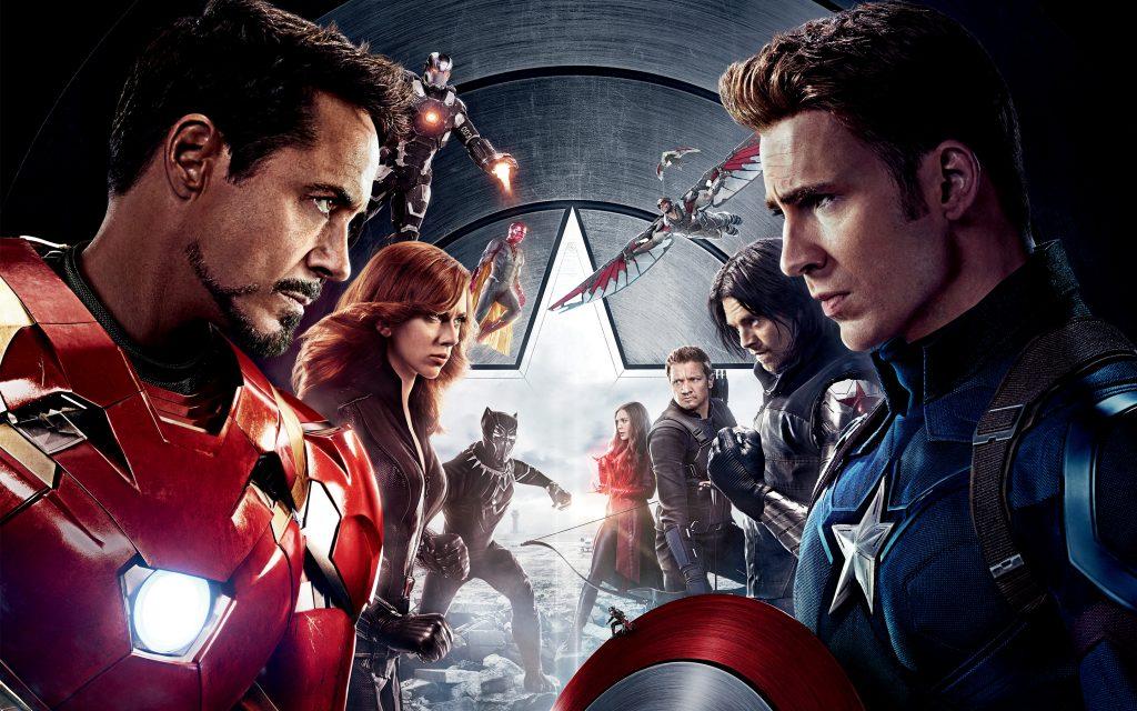Капитан Америка гражданская война. обои скачать