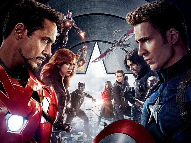 Капитан Америка гражданская война.