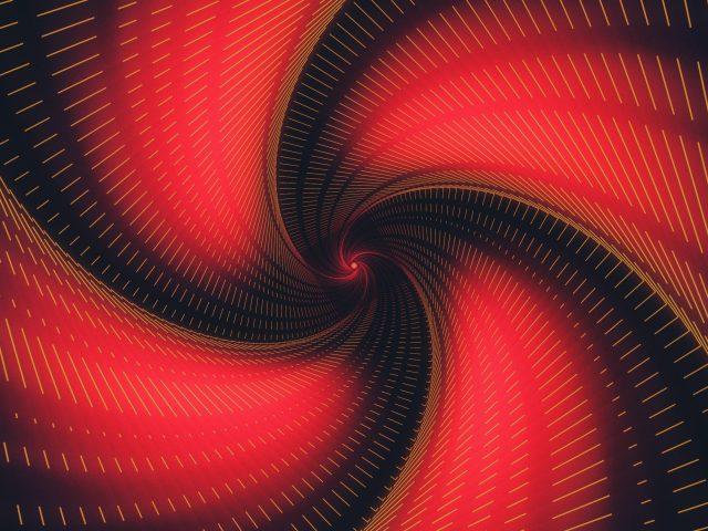 Черный красный дефис вихрь абстрактный
